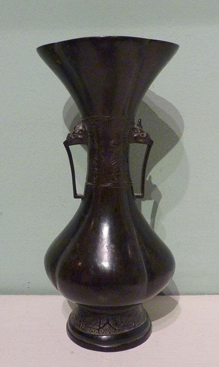 Chinese Bronze Flower Vase Nicholas S Pitcher Uk